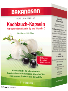 Bakanasan Knoblauch-Kapseln